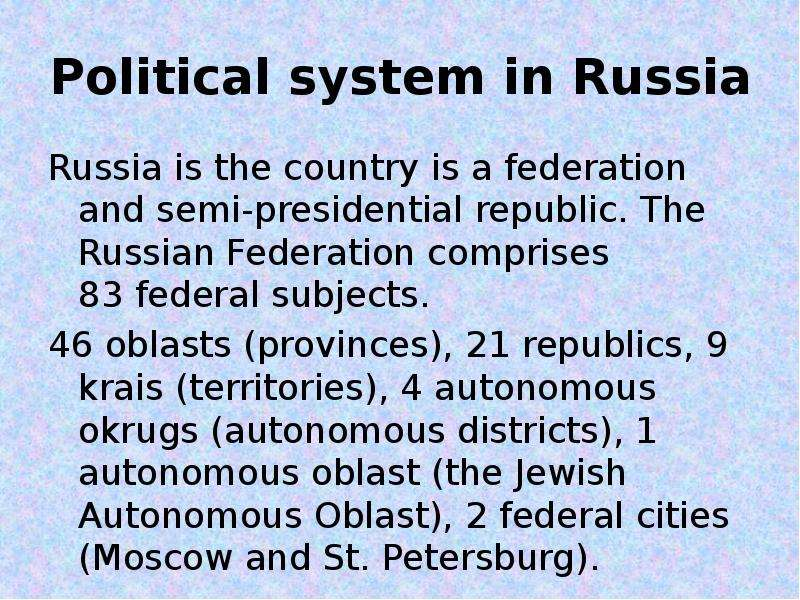 political views in russia