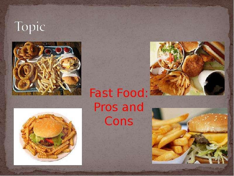 as fast as food essay