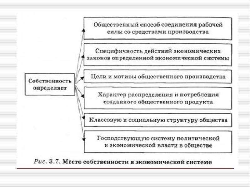 Собственность в экономической системе реферат 3536