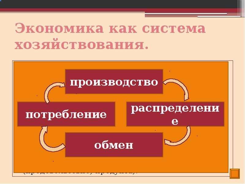 Экономика как система хозяйствования. Экономическая деятельность – это производство, распределение,