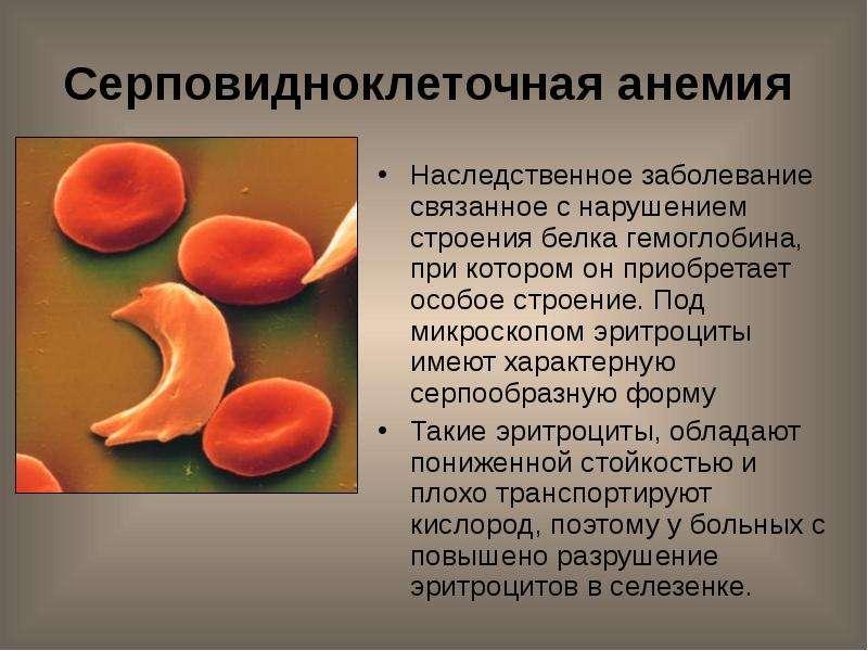 Болезни связанные с белком