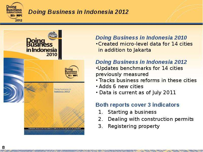 doing a business in indonesia Doing business in indonesia 4 2 – business environment indonesia is located in the south-east asian pacific region and the country is now classified.