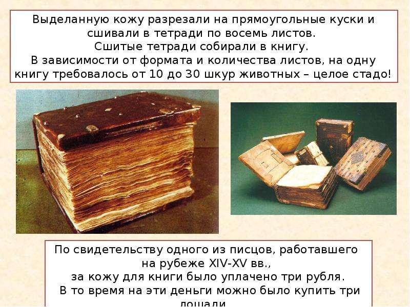книги которые были в древности картинки и названия