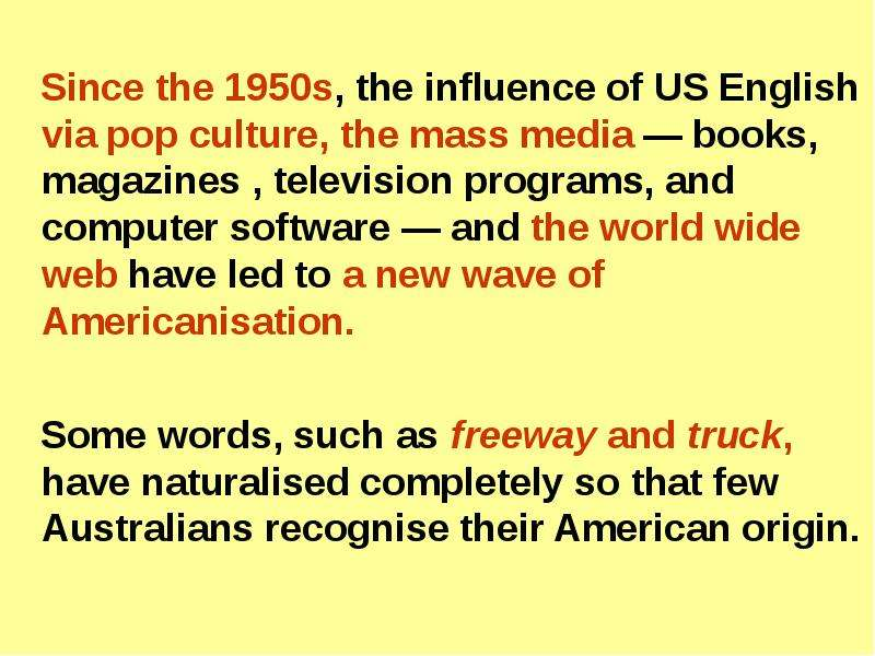 the influence of mass culture on