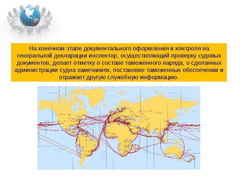 Таможенный контроль на водном транспорте ., слайд 35