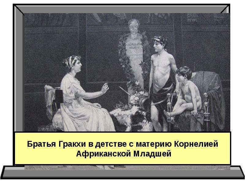 Тема урока: « Земельный закон братьев Гракхов», слайд 11