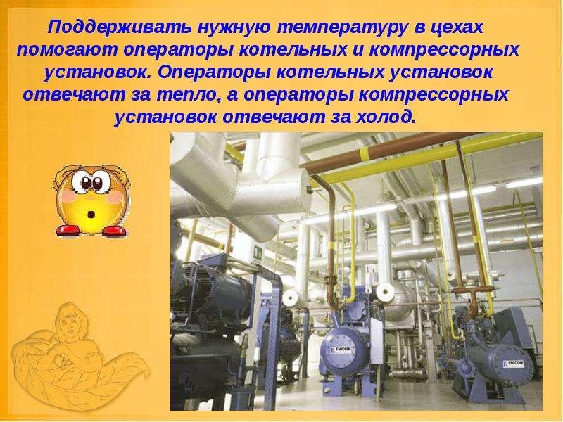 сколько инструкций должно быть у оператора газовой котельной