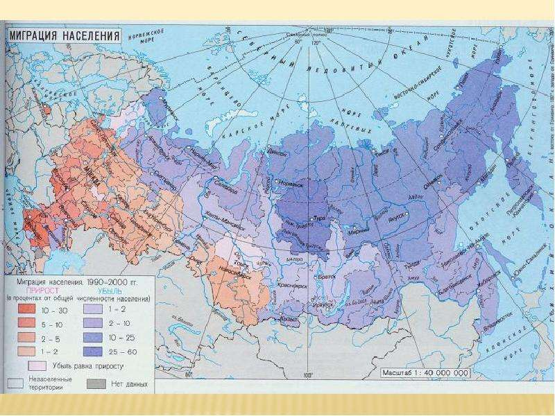 Миграция населения Республики Коми, слайд 12