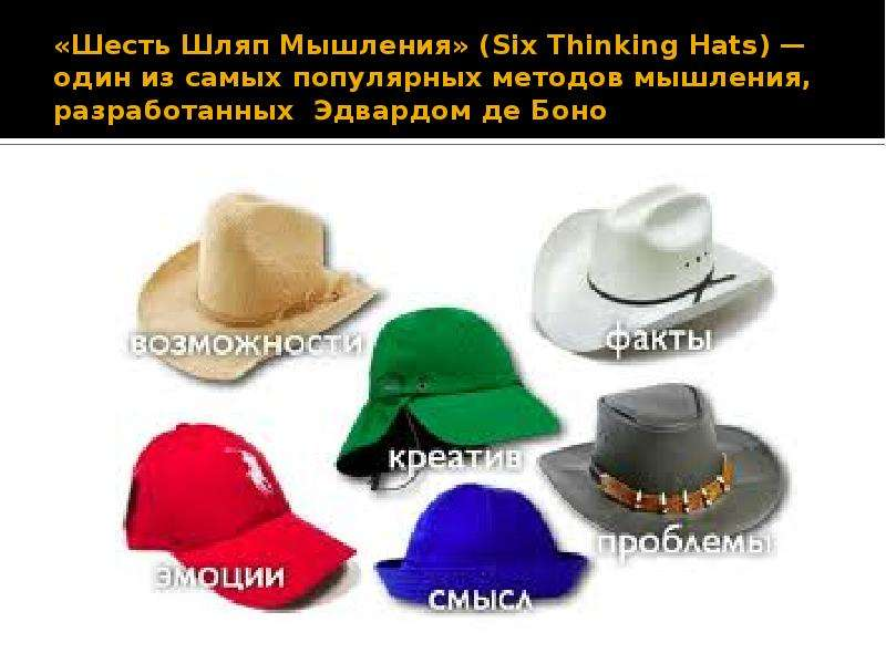 six thinking hats review
