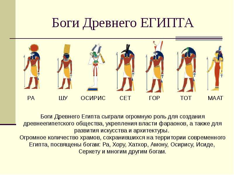 Боги Египта В Картинках