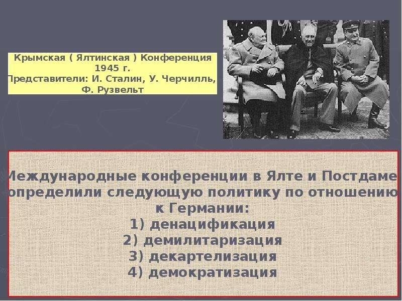Тема урока « Германия: раскол и объединение», рис. 6