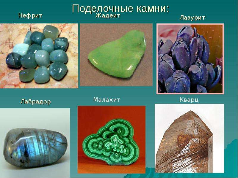 Камни драгоценные и полудрагоценные фото