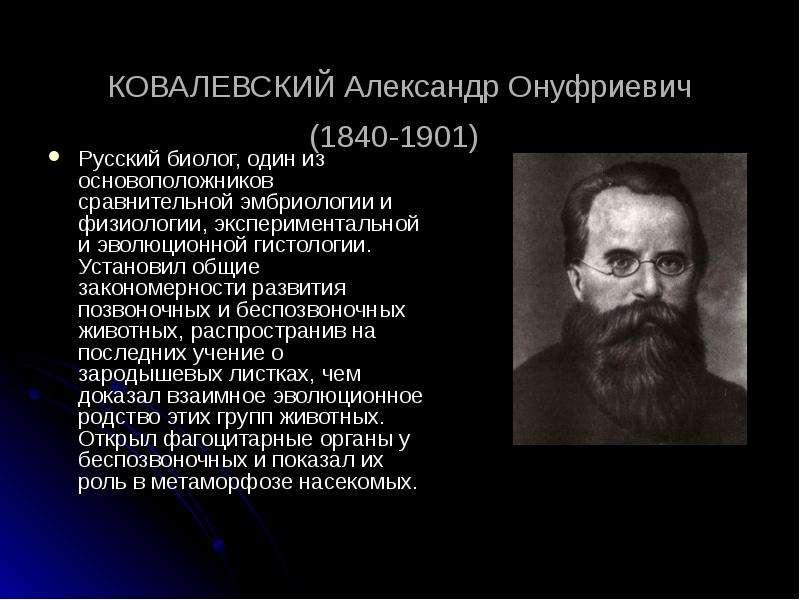 Ковалевского, а их у него более восьмидесяти - почти невозможно, тем более, что каждая из них является в своём роде образцовой.