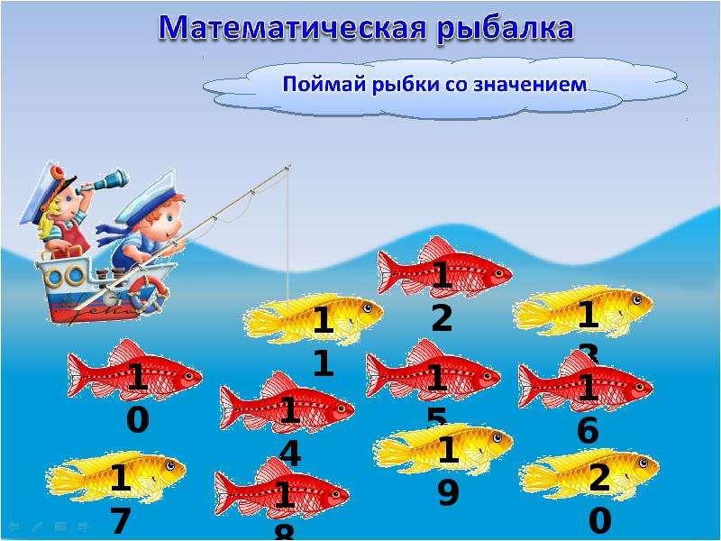математическая рыбалка презентация