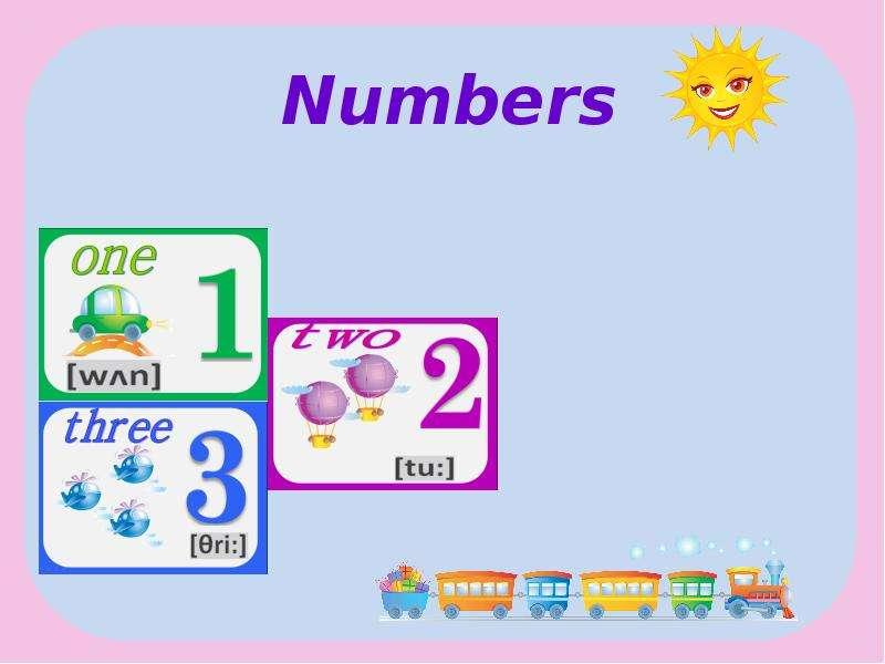 Numbers - Презентация