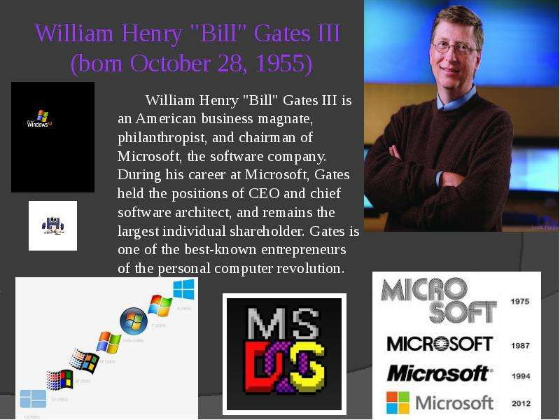 the life of william henry gates iii an american business magnate