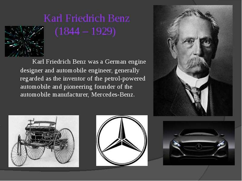 a report of the invention of the automobile