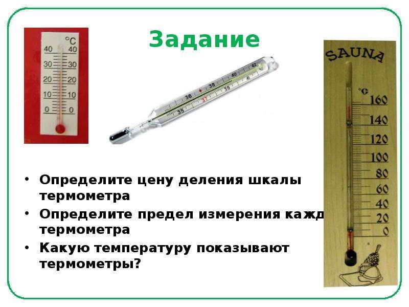 показать картинку термометра которым измеряют воду