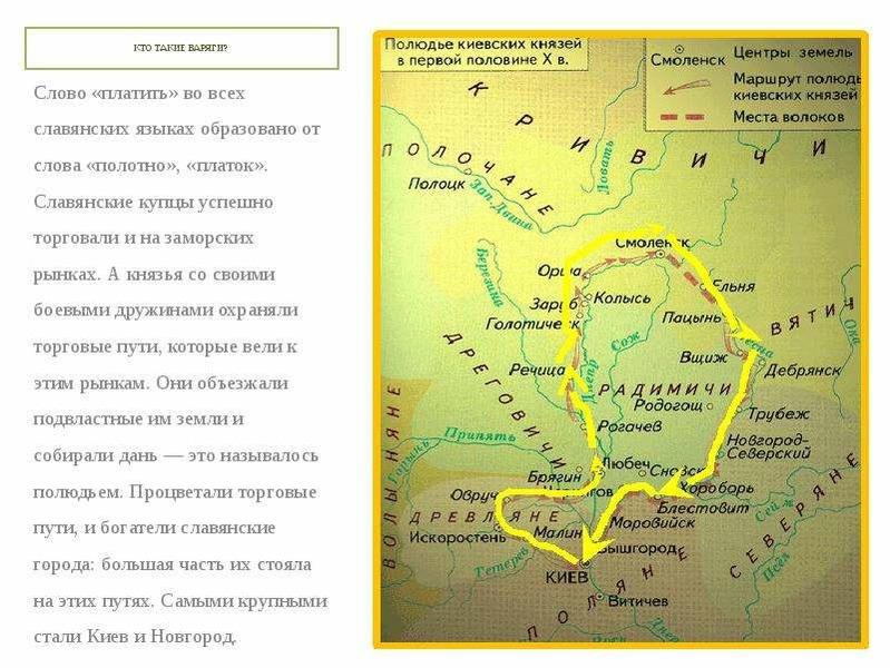 КТО ТАКИЕ ВАРЯГИ? Слово «платить» во всех славянских языках образовано от слова «полотно», «платок».
