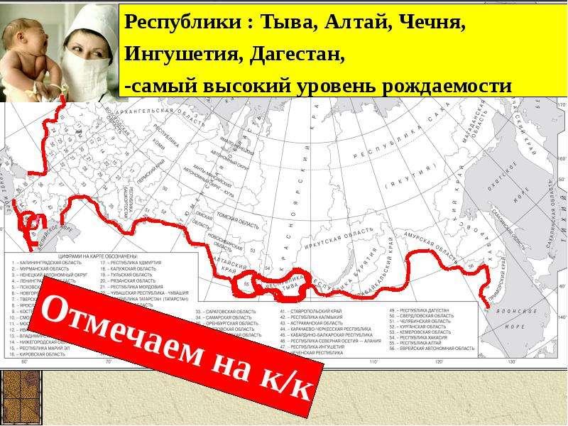 Воспроизводство населения в России, слайд 7