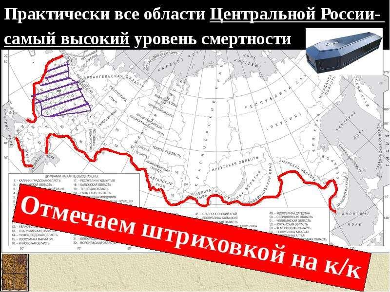 Воспроизводство населения в России, слайд 10