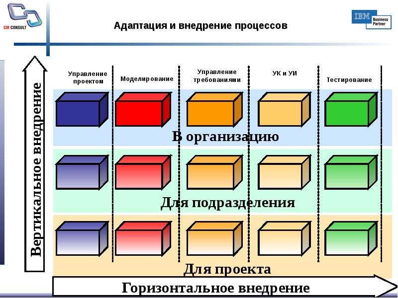 Адаптация и внедрение процессов