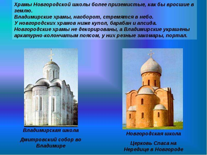 Презентация древнерусская архитектура