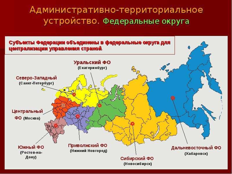 все Карта административно территориального устройства российской федерации Можешь устроить