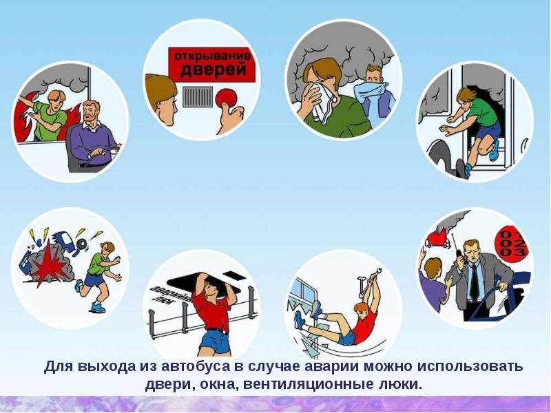 «Безопасность на общественном транспорте» Кадырханова Айдана, рис. 6
