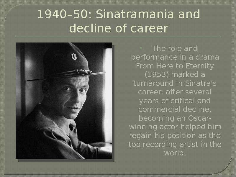 A biography of frank albert sinatra