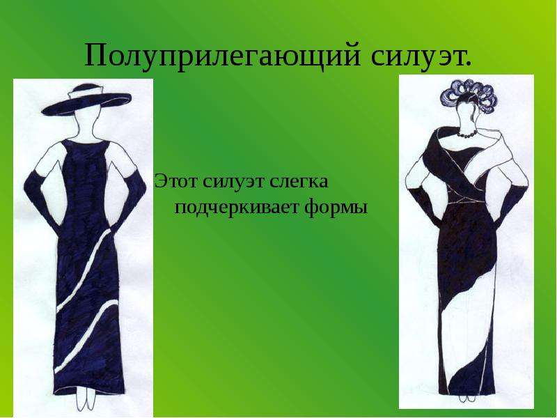 Силуэты В Одежде