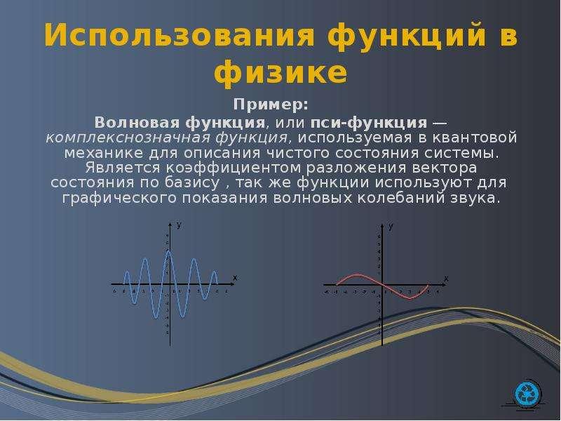 Использование функций в формулах электронной таблицы