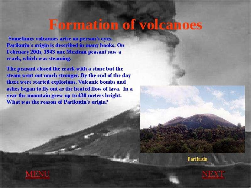 descriptive essay on valcanoes