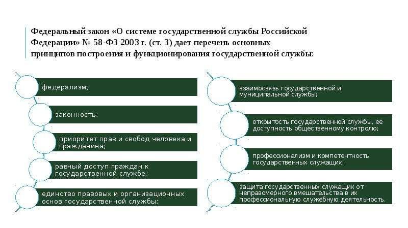 ПРИНЦИПЫ ПОСТРОЕНИЯ И ФУНКЦИОНИРОВАНИЯ СИСТЕМЫ ГОСУДАРСТВЕННОЙ СЛУЖБЫ, слайд 6