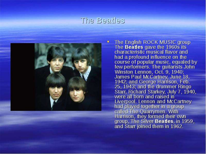 the beatles influence on american rock