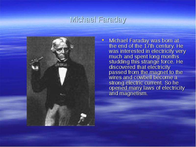 michael faraday 2 essay Michael faraday: michael faraday, english physicist and chemist whose many experiments contributed greatly to the understanding of electromagnetism.