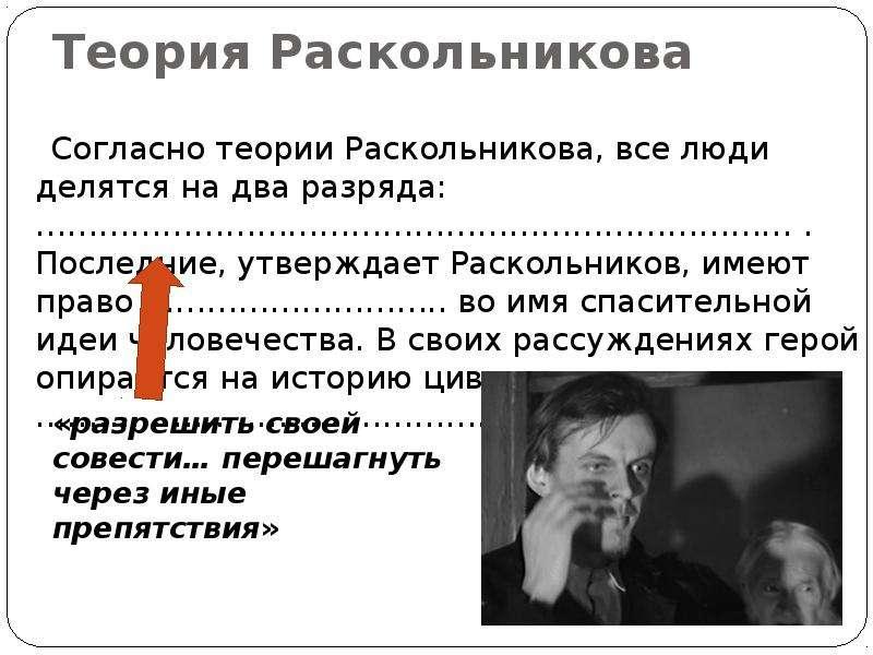 raskolnikovs thesis