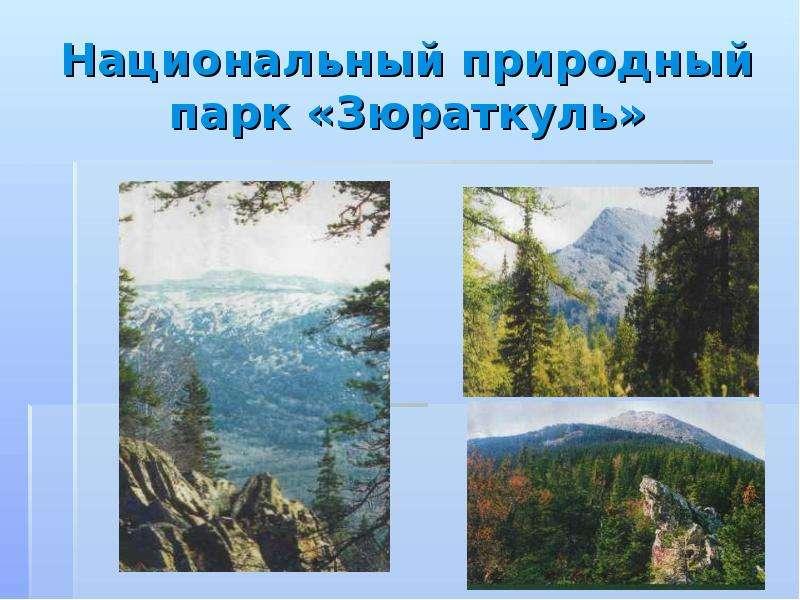 Национальный природный парк «Зюраткуль»