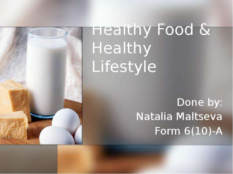 essay on healthy lifestyle diet