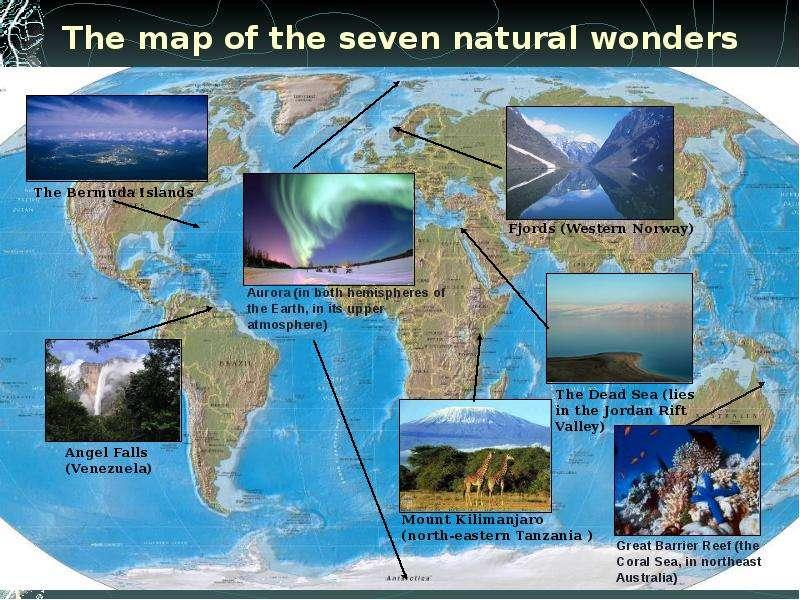 seven natural wonders