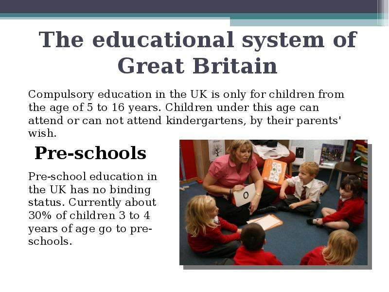 the british educational system