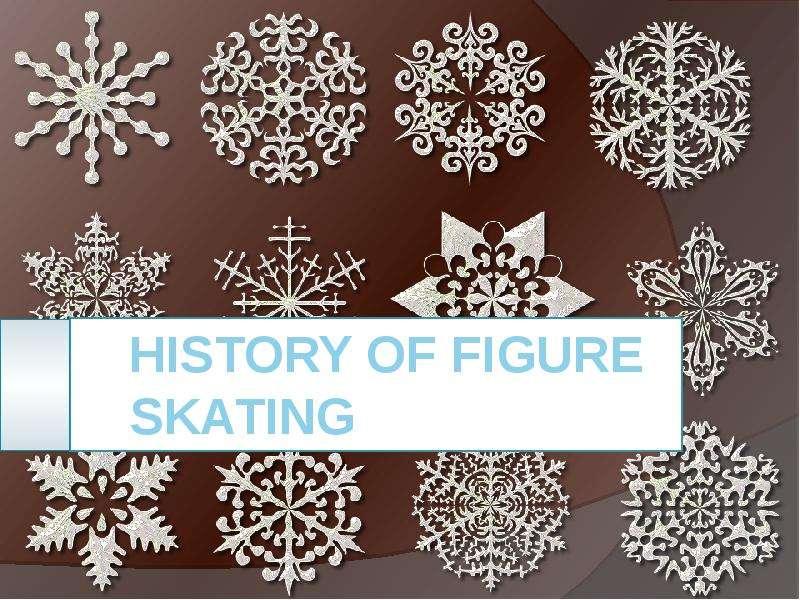 History of figure skating
