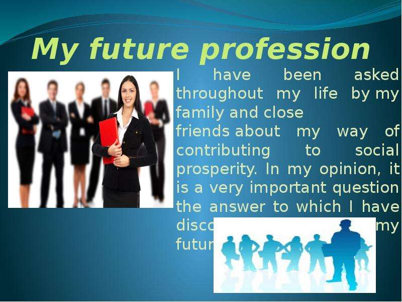 essay business future Sample college application essay 1 non-academic clubs such as the future physicians and the give me an opportunity to see both the business world and the.