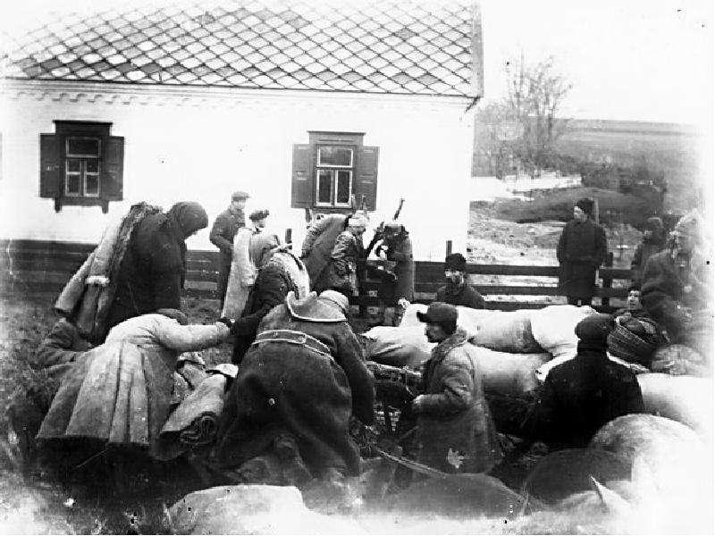 колективізація сільського господарства голодомор 1932-33 того существуют