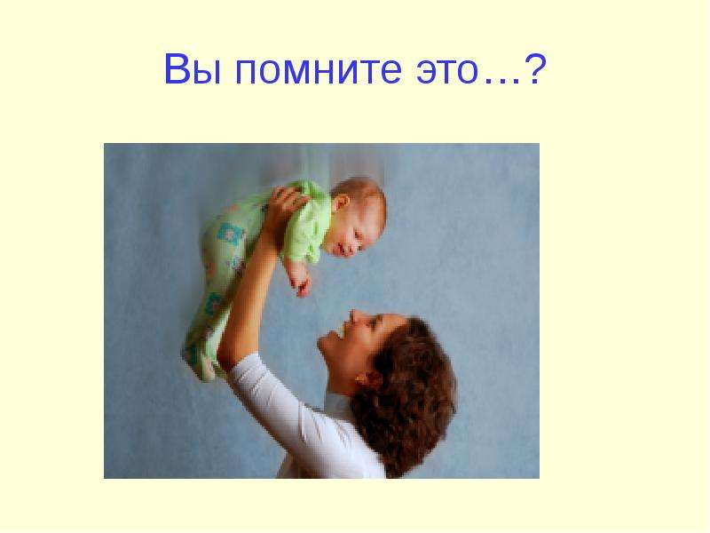 Вы помните это…?