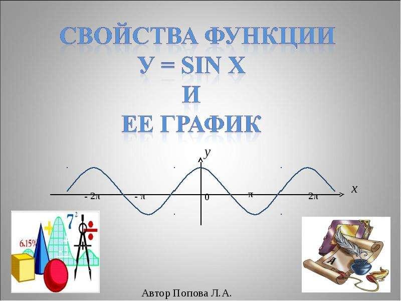 Свойства функции и ее графики - презентация по Алгебре