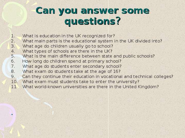 Education  in the United Kingdom, слайд №19