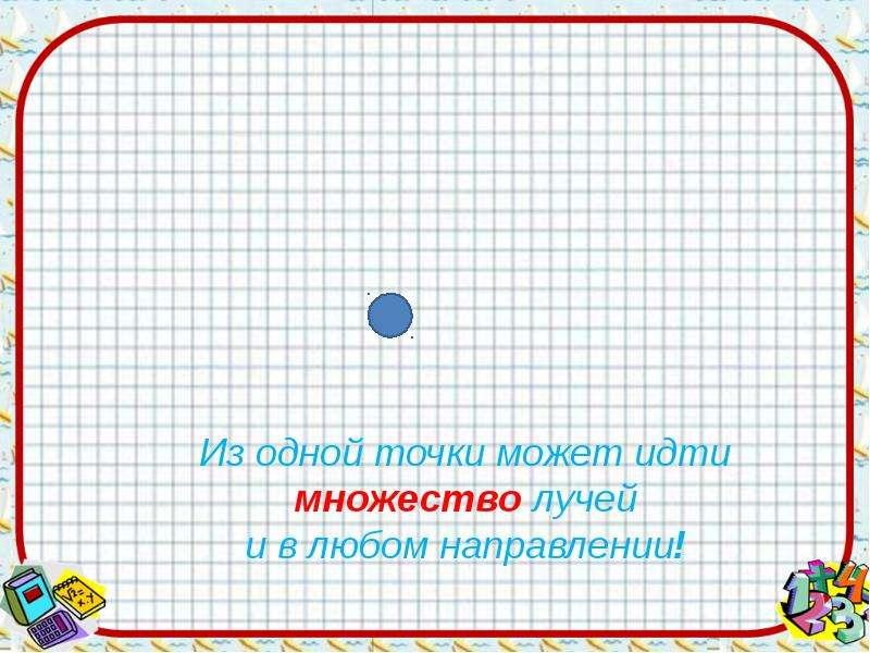 На тему Луч и его обозначение, слайд 10