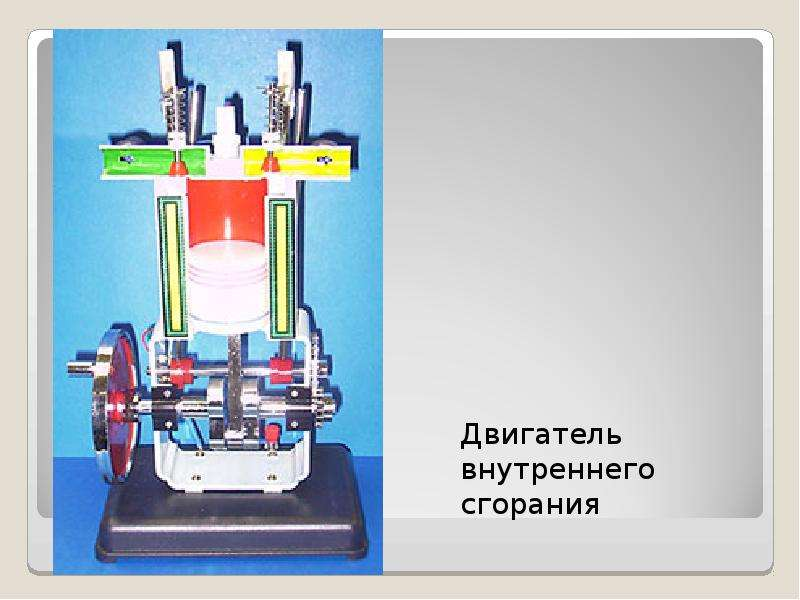 Простейший двигатель внутреннего сгорания