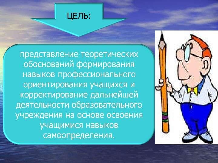 Педагогический проект «Профессиональное ориентирование обучающихся школы на разных этапах развития личности» Педагогический п, слайд 4
